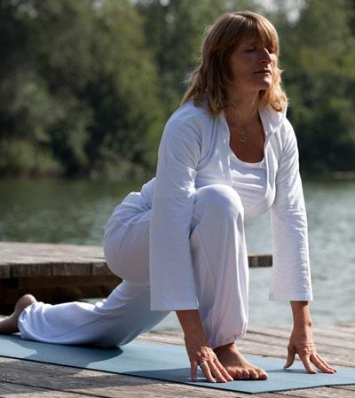 Yoga Lehrerin: Carolin Flinker